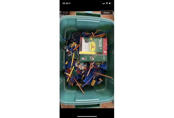 Knex speelgoed incl opbergdozen - 4839C3F6-CF02-4976-9305-37F9DFC647E7