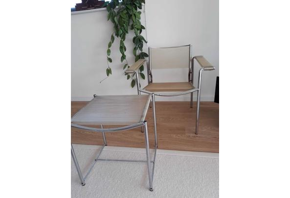 "Design ""Spagetti-stoel"" van Alias met voeten bankje - WhatsApp-Image-2021-06-17-at-15-20-22"
