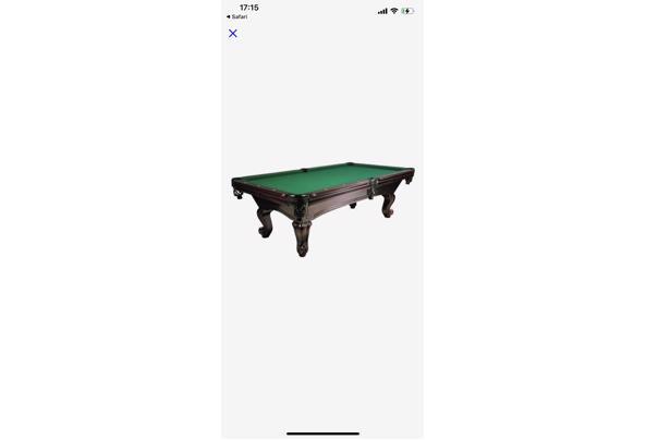 Biljart tafel  - ED5B39FB-DFD9-4FAB-9126-96725BF0BD1B