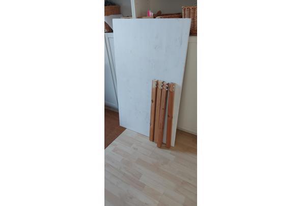 Tafel, hout, 120*75 cm, met demonteerbare poten - 20210615_173923