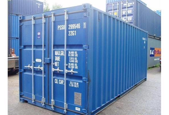 Zeecontainer  - 1-voyage-2009-20-ft1