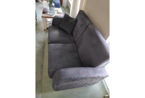 2 banken en een bijpassende fauteuil - 1616136458167