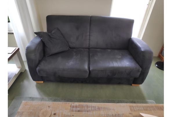 2 banken en een bijpassende fauteuil - 1616136458177