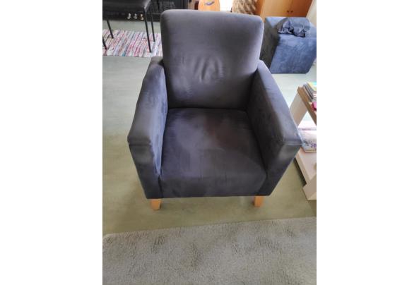 2 banken en een bijpassende fauteuil - 1616136458193