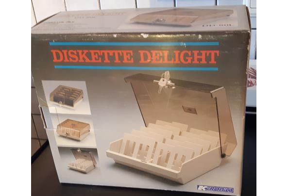 Discettebox met sleutels nieuw in doos - Discettebox