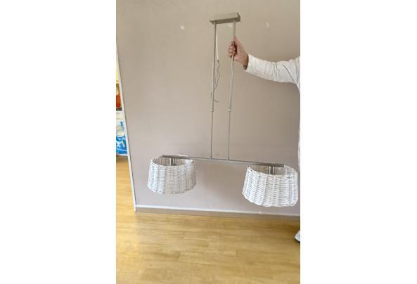 Hanglamp met 2 witte rieten kappen - EAD140FA-0F0D-45FF-B731-67F5553A44EB.jpeg