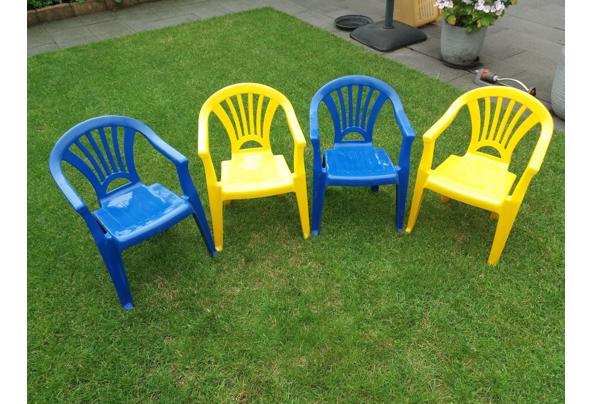 Kinder (tuin) stoeltjes, 4 stuks - 20200717_143420