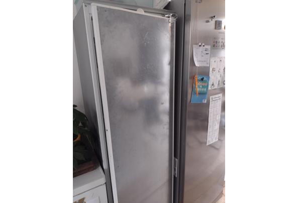 Grote grijze koelkast met vriesvak - IMG_20210415_094840717