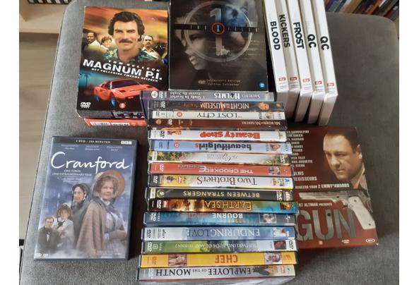Stapel originele dvd's,  incl enkele boxsets  - 20210727_154046