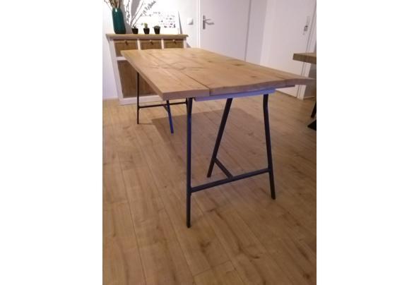 Zelfbouw steigerhouten tafel/Ikea poten - IMG_20210115_163537