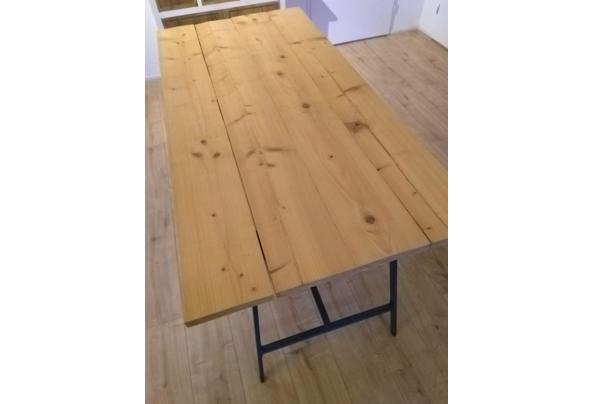 Zelfbouw steigerhouten tafel/Ikea poten - IMG_20210115_163545