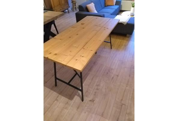 Zelfbouw steigerhouten tafel/Ikea poten - IMG_20210115_163557