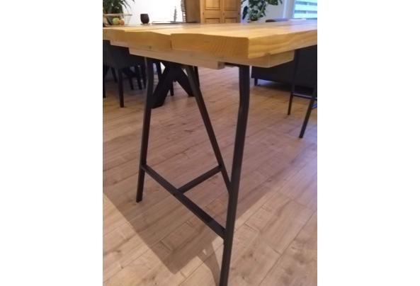 Zelfbouw steigerhouten tafel/Ikea poten - IMG_20210115_163605