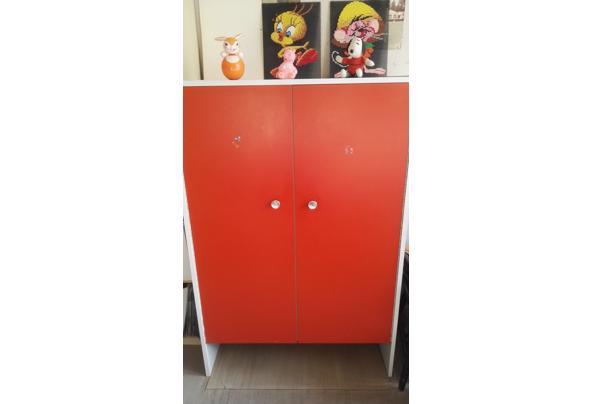 Paidi vintage rode kinder kledingkast '70 - IMG_20210123_143312