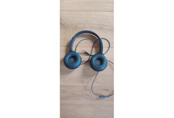 Hoofdtelefoon - microfoon grijs - IMG_20210419_181949