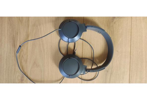 Hoofdtelefoon - microfoon grijs - IMG_20210419_181957