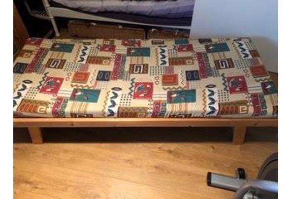 (Slaap)bankje met matras, ook te gebruiken onder zonnehemel - IMG_3948