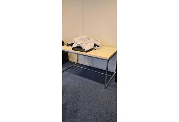 rechthoekige (eet)tafel stalen onderframe - 20210408_102315
