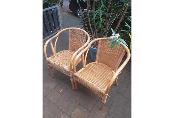 Twee rotan stoelen  - 20210910_153822