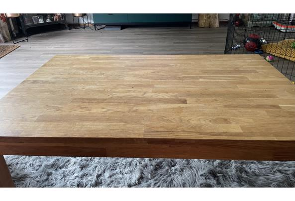 Ikea massief houten salontafel - 43BEC467-EBEB-425B-98D6-4E1590936E1E