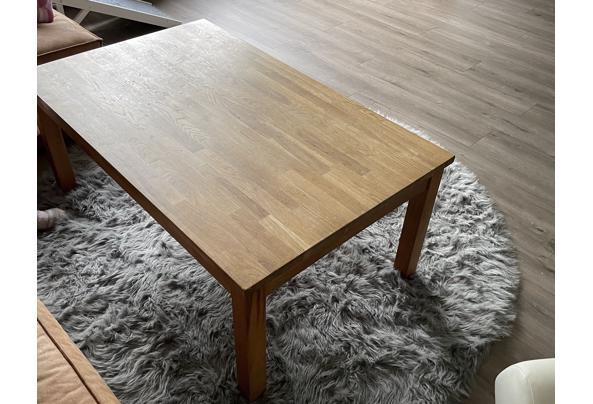 Ikea massief houten salontafel - 515D808C-00B0-41D6-B6E6-114DCDAADBF0