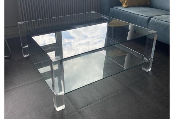 Glazentafel met perspex poten - IMG-1380
