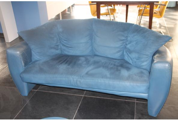 Leolux bank Vinja, 2,5 zits blauw - IMG_6439.JPG