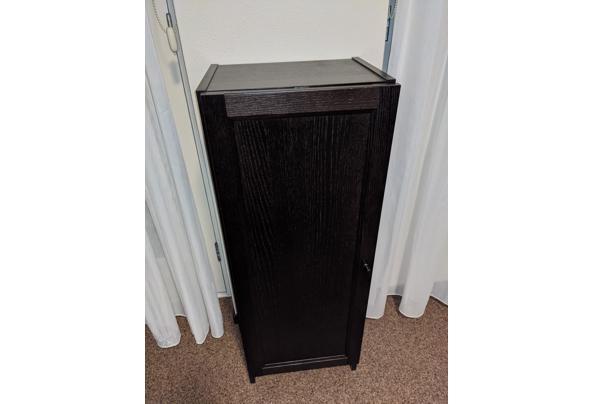 Stellingkast en lage kast met deur zwartbruin (serie Billy) - PXL_20210227_191137072