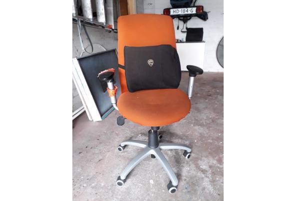 Gebruikte verrijdbare kantoorstoel - kantoorstoel
