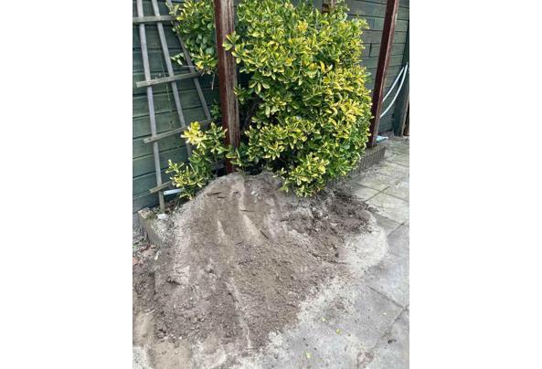 1-2m3 Tuingrond / Zand en zwarte grond - aru
