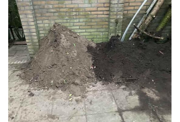 1-2m3 Tuingrond / Zand en zwarte grond - aru2