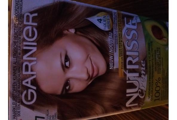 Haarkleuring Nutrisse Garnier 7 Natuurlijk blond - 20210322_191225