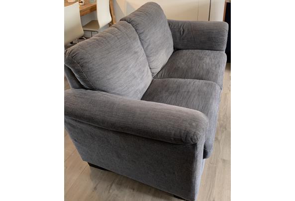 Ikea Tidafors banken grijs 2,5 en 2 zits met hocker - 7244C795-AD7D-41BC-B398-7FCE3E735C07