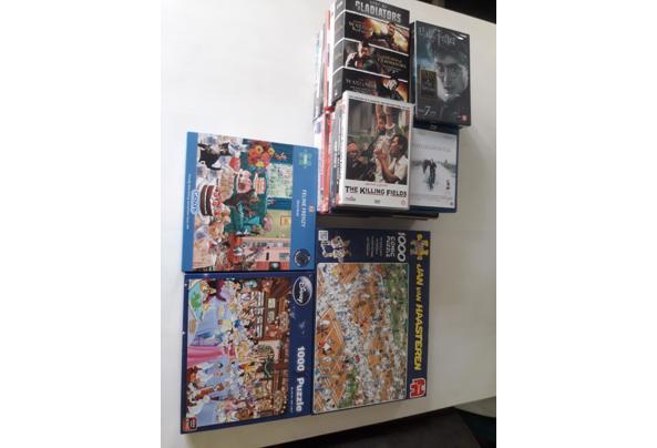 diverse DVD's, 3 puzzels - 20210906_100134