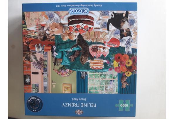diverse DVD's, 3 puzzels - 20210906_100156