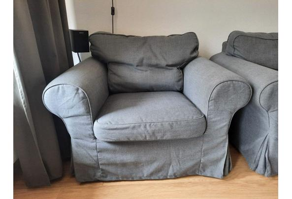 IKEA Ektorp 3-zits plus fauteuil GRIJS - IMG-20210821-WA0015_637651854705908950
