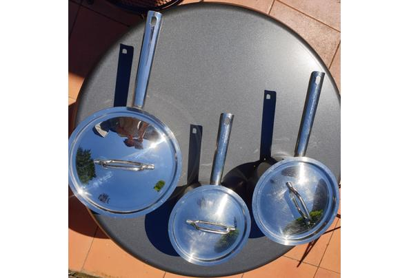 3 good quality cooking pans - 20210607_130040
