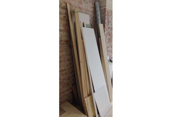 nieuwe gipsplaten, rachels, schoon hout - IMG_20210303_085340