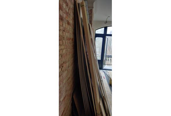 nieuwe gipsplaten, rachels, schoon hout - IMG_20210303_085348