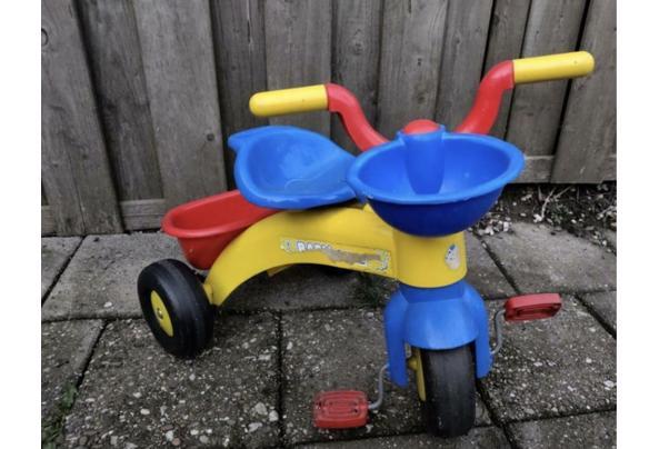 Kinder fiets met bakje  - 44BD8BF8-DFCC-4E1C-A456-E1E96C18A45D_637517928841500120
