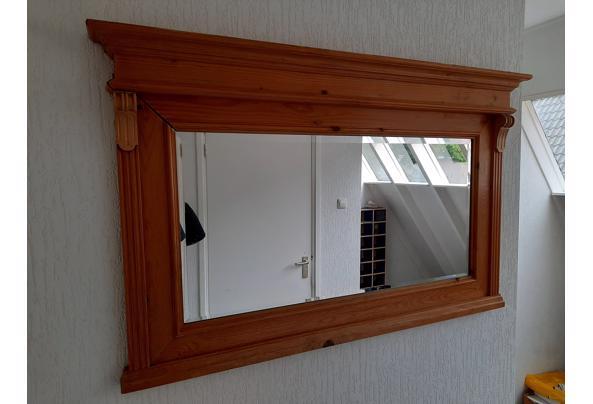 Spiegel met houten omlijsting  - 20210719_095410