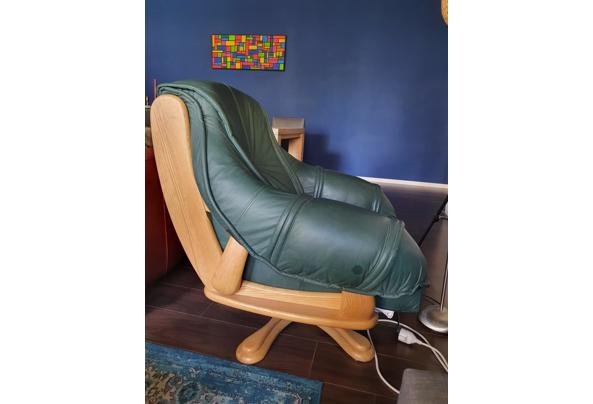 Groene draaifauteuil/draaistoel - 20210507_122157
