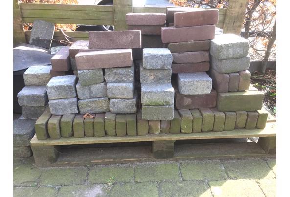 Restant diverse soorten stenen voor terras of oprit - IMG_2451