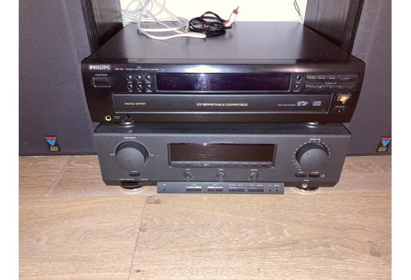 Tuner-versterker met CD-speler en 2 boxen - 69C71128-E496-42E0-8507-817D02341CF1.jpeg