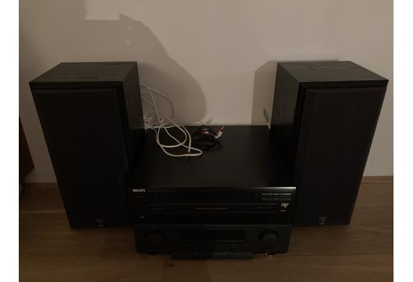 Tuner-versterker met CD-speler en 2 boxen - BA4F25F9-156C-4BE7-B66F-7D8EC7DD9D52.jpeg