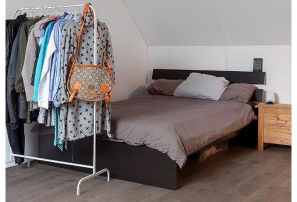 Ikea hopen bed, Sultan matras, lattenbodem - bed-photo