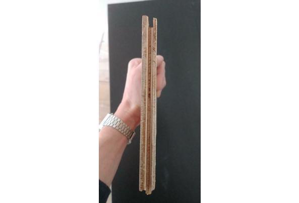 Eik 13x52 visgraat multiplank ~4m2 restpartij - bruyn_2