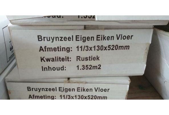 Eik 13x52 visgraat multiplank ~4m2 restpartij - bruyn_3