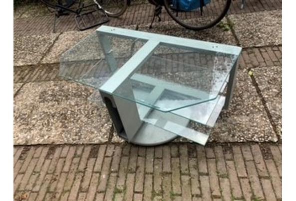 Draaibaar glazen televisie meubel - TV-1