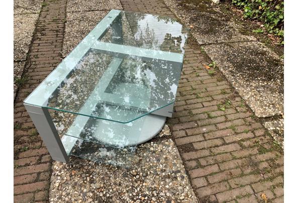 Draaibaar glazen televisie meubel - TV-2